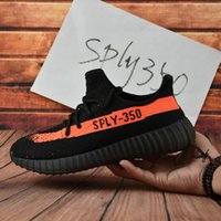 Cheap 2017 Cheap Adidas Originals Yeezy 350 Boost V2 Running Shoes Men Women Hot Sale 7 Colors Good Quality Cheap Black Pink Sneakers With Box
