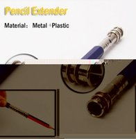 Wholesale Price Pencil Extender Holder Adjustable Dual Head School Art Writing Instruments For School Office Supplies