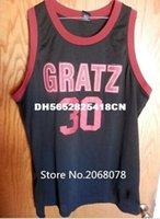 Wholesale high quality Wallace Rasheed Wallace Gratz High School Throwback Men s Stitched Rasheed Wallace Cheap