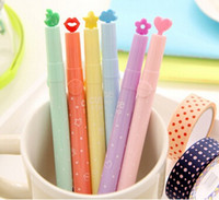 Wholesale New DIY Multifunction Creative Stamp style Fluorescent pen Color Highlighter marker