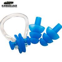 Wholesale Waterproof Soft Swim Silicon Earplugs Professional Silicone Swim Earplugs Adult Swimmer Children Diving Soft Anti Noise Ear plug
