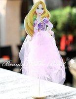 Venta al por mayor - 12 '' Alto Tangled Princesa Cake toppers Cupcake Accesorios Candy Bar Party Supplies Decoraciones de la fiesta de cumpleaños Baby shower