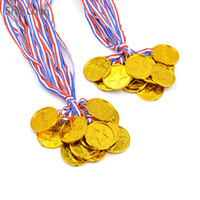 award winner - Plastic Children Gold Winners Medals Kids Game Sports Prize Awards Toys Party Favor