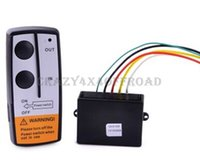 Wholesale DC V Black Wireless Remote Kit for Truck X4 Winch remote