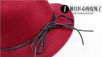 Wholesale The new lady han edition tether in the fall and winter hats fashion basin to outdoor cloth cap sunshade hat