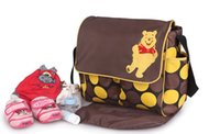 Wholesale Diaper bag baby bags for mom stroller organizer stroller bag fashion nappy bag for mommy and baby