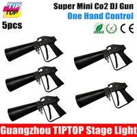 Wholesale Freeshipping Pack Handhold Co2 Gun DJ Lights Meter Hose CO2 Jet Machine DMX Stage Effect Machine Shoot Meter Cool Gas Jet