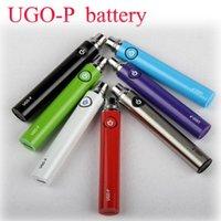 apples atomizer - UGO P Battery mah EVOD EGO ugo p E Cig Battery for iphone port Apple button USB passthrough fit EGO Evod dct Atomizer