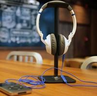 Computer aluminum shelf - Aluminum alloy earphone bracket Metal headphone display shelf Wearing headphones