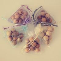 Wholesale 10pcs Natural Cedar Wood Moth Balls Lavender Camphor Bug Repellent Wardrobe Clothes Drawers