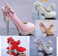 Party ballet shoes price - wholesaler factory price hot seller dress shoes gold bowknot diamond gold wedding sexy lady shoes