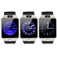All Compatible English Passometer DZ09 Bluetooth Smart Watch GSM SIM Camera for iPhone Samsung Android Phone Intelligent mobile phone watch can record the sleep state Smart