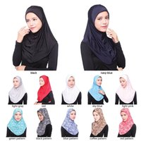 arab hats - New Arrival Hijab Scarves Muslim Head Scarf Arab Islamic Head Wear Hat Women s Shawls Headband colors