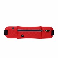 Cheap Wholesale-40*10cm Portable Anti-theft Slim Running Jogging Gym Exercise Cell Phone Chest Waist Fanny Sports Running Bag Adjustable Strap
