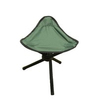 Wholesale Green Outdoor Chair Stools Portable Foldable Triangular Fishing Chair Picnic Beach Chairs Practical H193