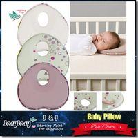 Neck baby sleep cushion - 1 CARTON PIECE Baby Pillow Infant Sleep Shape Toddler Positioner Anti Roll Cushion Flat Bebe Head Pillow Protection of Children Almohadas