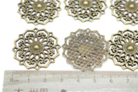 Other antique grilles - Jewelry finding amp components parts Bronze grilles Antique jewelry materials jewelry diy sweater chain accessories TP2183