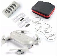 Plus nouveau ZEROTECH Dobby Pocketable Drone FPV de Pocket Selfie avec 4K caméra HD GPS Solution Smart RC Quadcopter APP Control F19092-C
