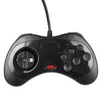 Estilo clásico del sistema retro USB Handheld Gamepad Controlador de juegos con cable Joystick Joypad Game Pad para Gamer Windows PC para Mac