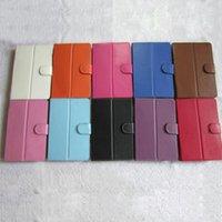 7 8 9 9.7 10 pulgadas de la caja de la tableta Cubierta de cuero universal colorido de la caja de la PU sin el soporte del teclado para 7