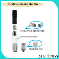 Wholesale Newest full Ceramic Wickless cartridge vaporizer o pen ce3 cbd vape e cig cigarettes atomizer DHL int03