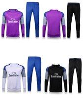 Wholesale new new top quality ronaldo marcelo James Bale Benzema Kroos tracksuits survetement training suit long pants