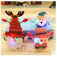 Wholesale Christmas children children light clap circle wrist bracelet accessories applauded Christmas gifts toys