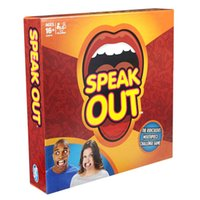 best priced toys - 2016 fast shipping by DHL Speak Out Game KTV party game cards for party Christmas gift newest best selling toy factory price