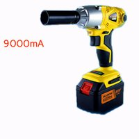 Wholesale 1 Li ion V mA Electric Impact Wrench car wrench scaffolding lithium electric pneumatic drill tool wrench