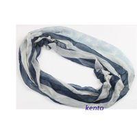 american flag loop - ladies Fashion blue white vintage flag star striped infinity scarf American flag loop scarf wide cm long