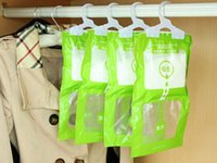 Wholesale Household Cleaning Tools Chemicals Be hanging wardrobe closet bathroom moisture absorbent dehumidizer desiccant Dry bag NEW