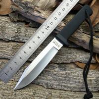 beauty hardness - Cold steel three tactics straight knife outdoor beauty VG knife blade glidden mountain high hardness survival self defense