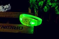 Wholesale Luminous LED bracelet Sound vibration luminescence Silicone Bracelet Birthday Party Luminous Bracelet Event Party