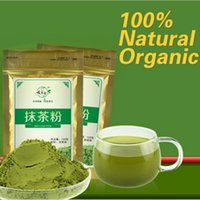 Wholesale 2pacs g Matcha Green Tea Powder Natural Organic slimming tea matcha tea weight loss food