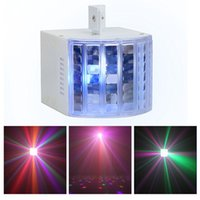 Wholesale Mini Led Stage Effect Lights w with Colors DMX512 Dj Strobe Lighting Equipment System White Disco Party Wash Beam Light