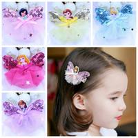 Wholesale 2017 New Korean children hair accessories baby hairpin girls hair tie clip Frozen princess princess hairpin head hair clip