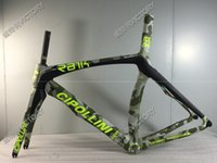 Wholesale 2017 New Camouflage RB1000 T800 UD Road Bike Frame Carbon Frame Size XXS XS S M L available BB30 or BB68