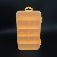 Wholesale Double Tool Box Electronic Plastic Parts Toolbox Casket SMD SMT Screw Component Storage Box