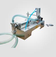 beverage filling - ML Semi automatic Pneumatic liquid filling machine filling shampoo perfume SS304 beverage packer