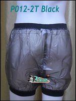 Wholesale 2 pieces ADULT BABY incontinence PLASTIC PANTS Transparent P012 T Full Size L