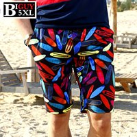 big boardshorts - Big Size XXXL XL XL Print Boardshorts Men Beach Shorts Casual Summer Mens Board Shorts Homme Bermuda Masculina TM