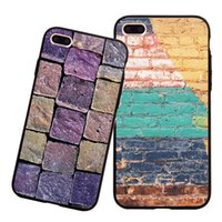 Защита от мобильного телефона оболочки случаи мобильного телефона для Apple IPhone кирпича Painted восстанавливая стародедовские пути бамперы
