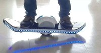 Wholesale One Wheel Unicycle Self Balancing Scooter Land Surfing Standing Electric Skateboard V mAh with LED Hoverboard