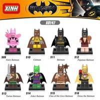 Wholesale Batman Toys Minifigures Assembly Blocks Building Blocks Sets Superhero Children s Educational Toys Batman Kids Learn Gift