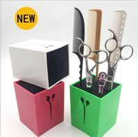 Wholesale Hairdressing scissors comb clip socket Holder Hair cutters scissors hold up to or pairs of scissors