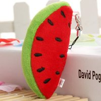 baby doll cradles - Baby Educational Toys Fruits and vegetables Dolls for Children s cradle High quality plush toys cm watermelon model