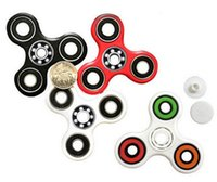 Wholesale MOQ Hand Spinner Tri Fidget Ceramic Ball Desk Focus Toy EDC For Kids Adults Free Shopping