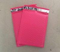 Color rosado plástico plástico de la burbuja que envía el envío del correo Envíe los bolsos envueltos de los sobres / espese las bolsas impermeables del mensajero Sobre de la burbuja