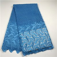 Wholesale high quality african lace fabric for wedding french guipure cord lace for party dress