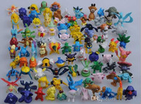 Wholesale hot toys anime Pocket Monster Toys Action Figures Pikachu furnishing articles doll cm